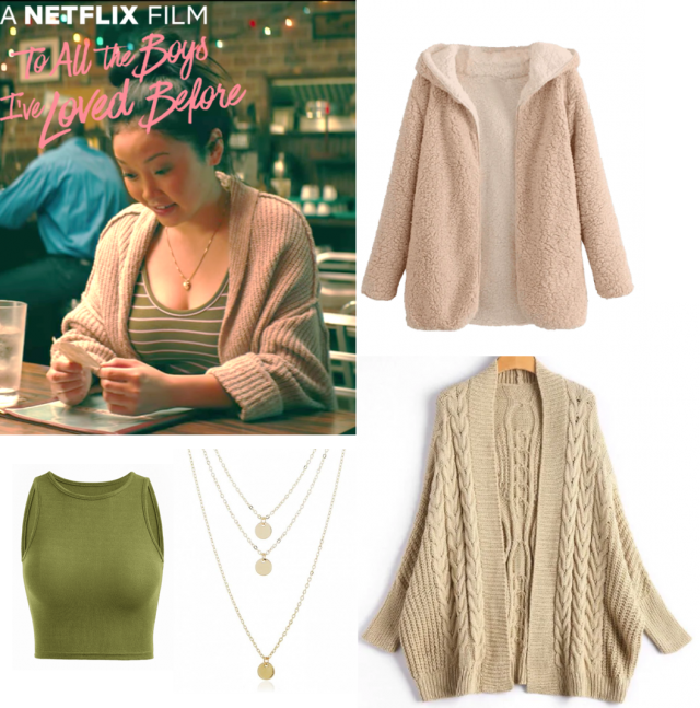 """This look is also from my favorite movie """"To all the boys I've loved before"""". I like it because it is…"""