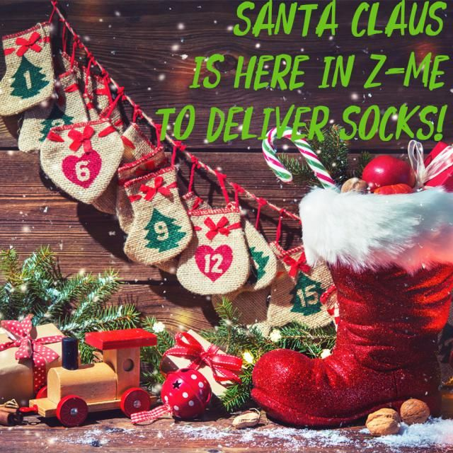 【Secret Gift】 We have a surprise for you! It is said that Santa Claus will appear in Z-Me during Christmas. He will …