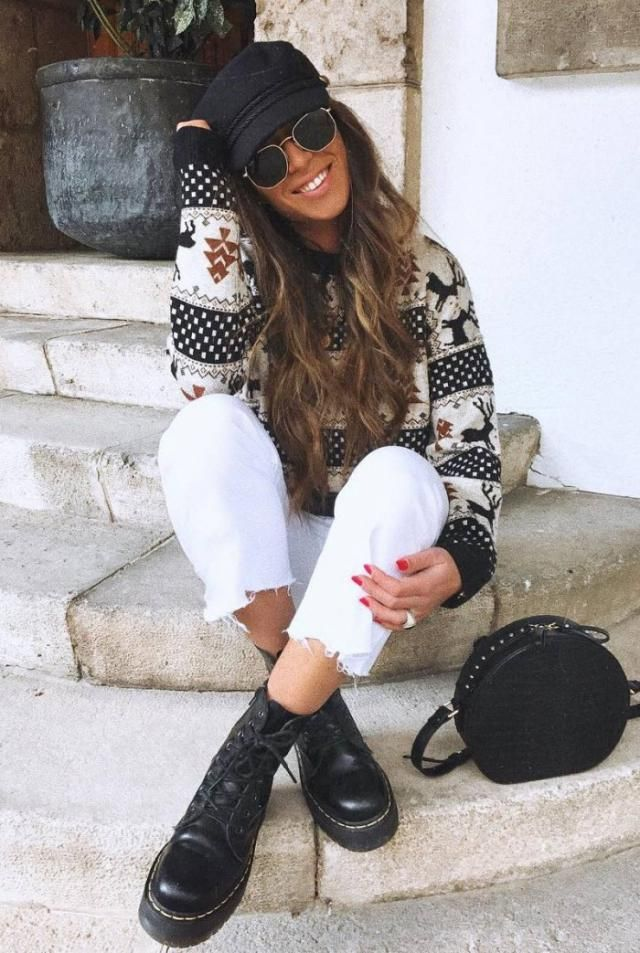 Pullover Christmas Sweater Beautiful Christmas Sweater And Jeans.Get it now,online shop! Buy here ,Great discounts, f…