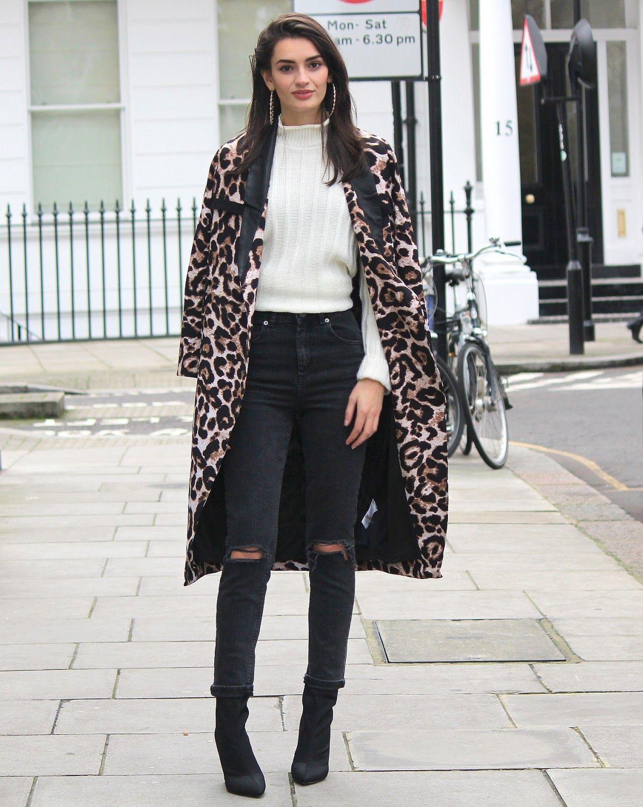 Coat Leopard Wonderful Look 2f8f12b508a6