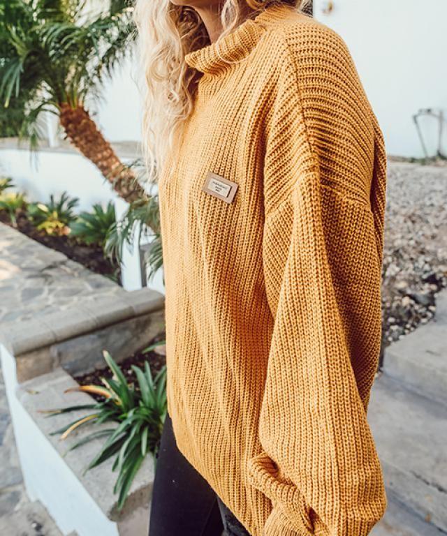 Sweater Sweater Shoulder Sweater Sweater Yellow Sweater#
