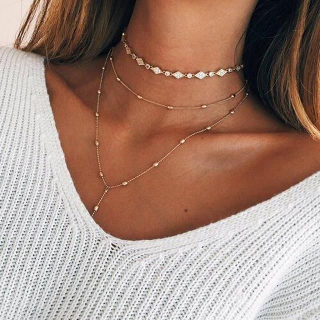 Necklace Gold BUY HERE ! Online shop,ZAFUL is the best!!!