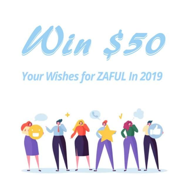 In 2019 ZAFUL would like to offer you even more. 