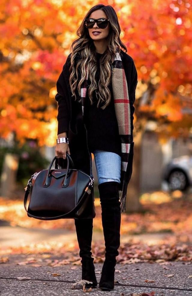 Fluffy Teddy Coat Black