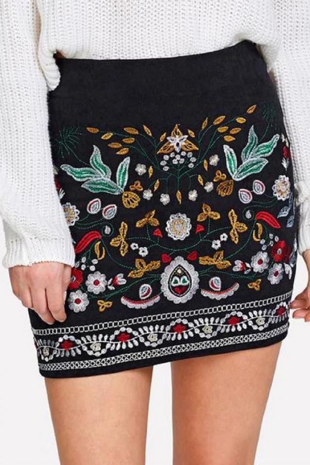 Get beautiful mini skirt, online shop, women style, buy on zaful, women fashion!!