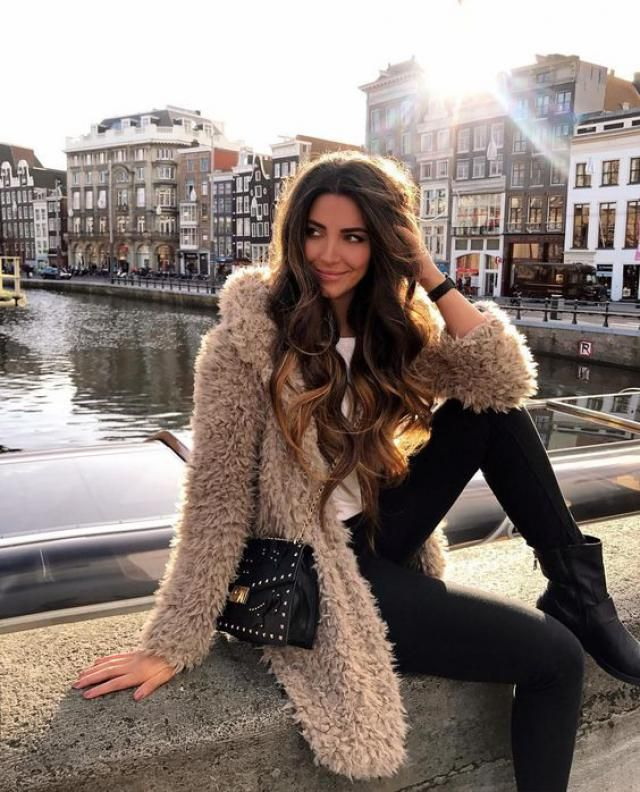 Fluffy Faux Fur Short Winter Teddy Coat