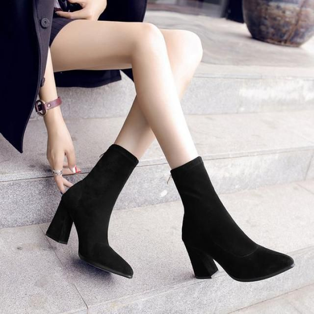 Get beautiful ankle boots, women winter style, get it now, online shop!