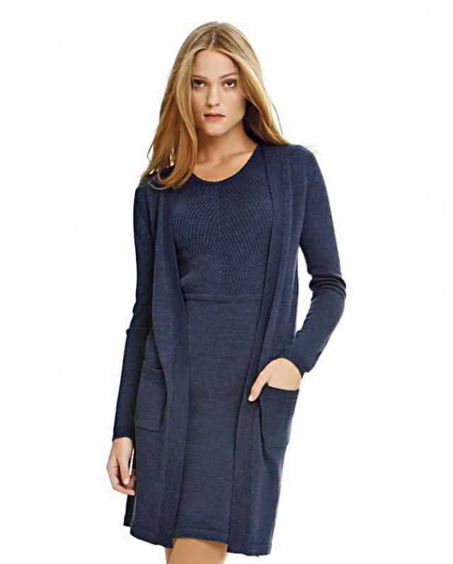 Trendy sweater and dress