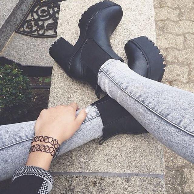 Get platform boots, online shop, zaful fashion, get it now, buy now, platform boots!