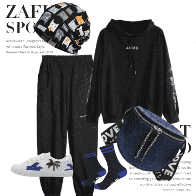Comfortable things for a relaxed style