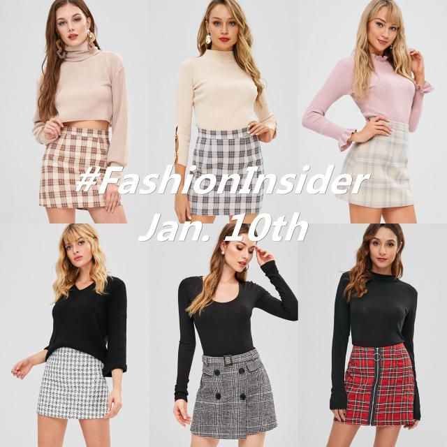 FashionInsider will update half a week to bring chic trends, providing you with the latest information. The plaid patte…