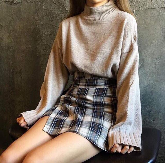 I love this skirt, looks very similar to K-pop idols skirt!!!♥♥♥