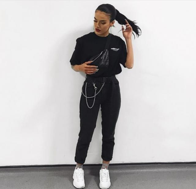OMG i'm really in love with this black outfit, i really love it! if you like it you can get it here in ZAFUL!!♥♥