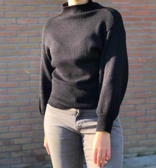 I really like it! The sleeves are a little bit short, but the sweater is very stretchy and warm!