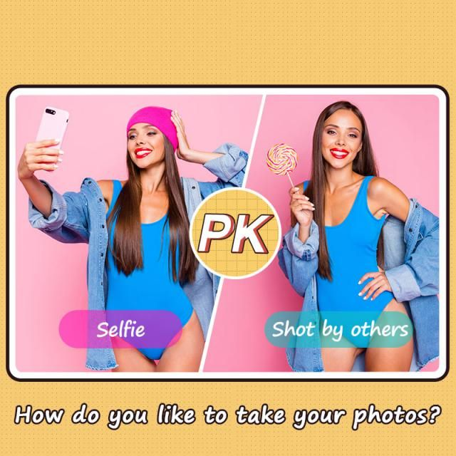 How do you like to take your photos? 