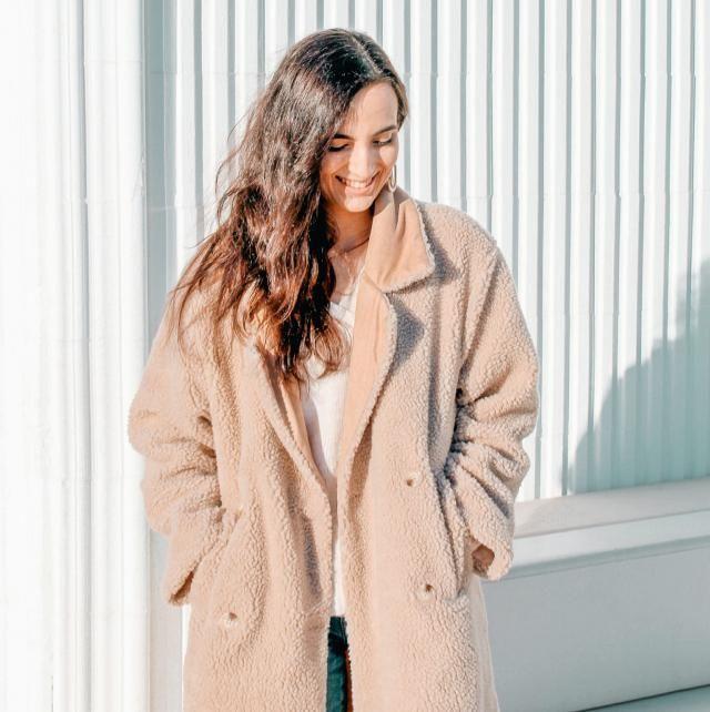 Estoy enamorada de este abrigo! Es perfecto para invierno y es muy cómodo!