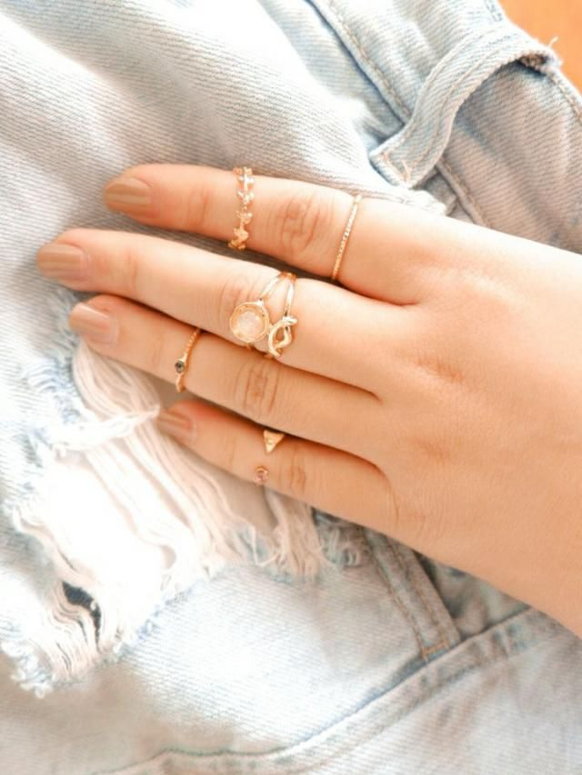 Super cute. Some of the rings are a bit dented, but doesn't shown when worn.