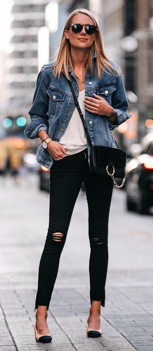 ZAFUL Denim Jacket  Blue