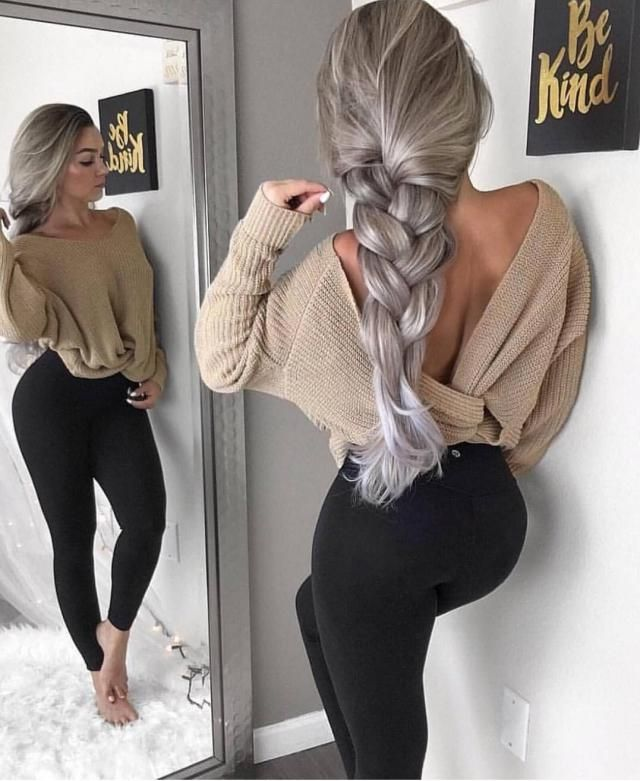 a simple casual outfit is the best choice for a laid back style
