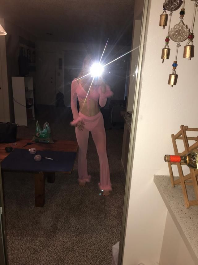 Such a cute good quality suit. The pink was light so you could see the liners in the top so I just took them out. I'm …