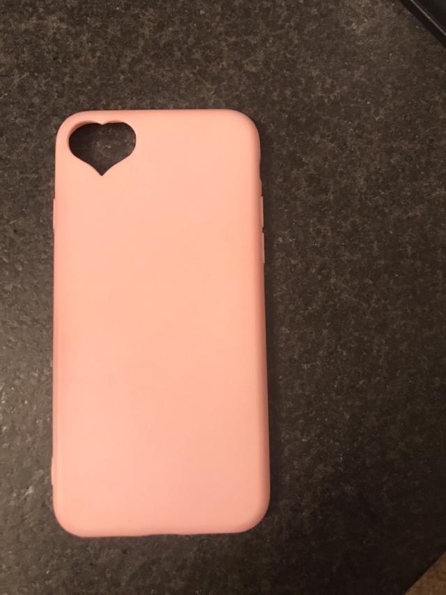 pink heart case !