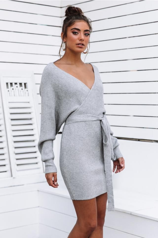 Zaful Knitted Ribbed Draped Dress   Perfect party dress , buy here ,Great Valentine&;s Day Discount !Only in ZAFU…