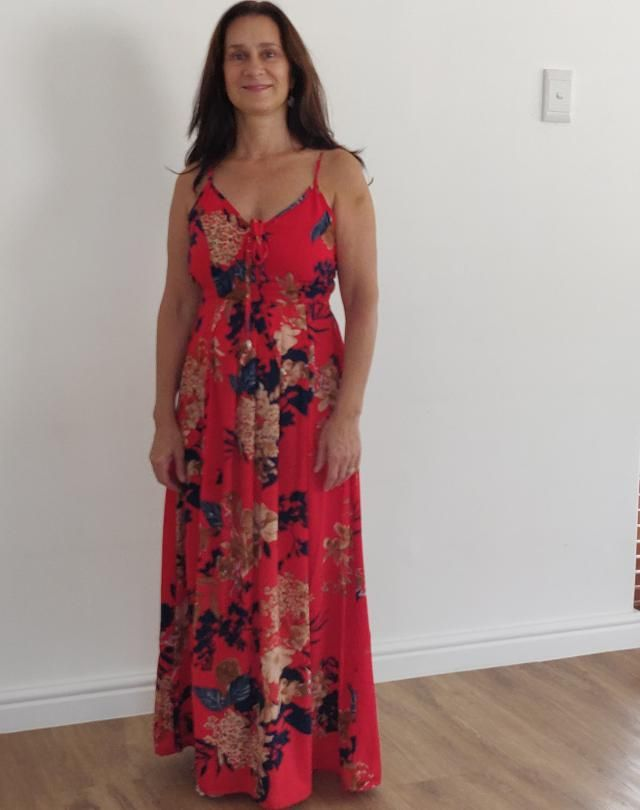 """Really love it, very stylish. I'm a little shorter (5'0""""), so i had to bring up the hem so the dress didn't touch…"""
