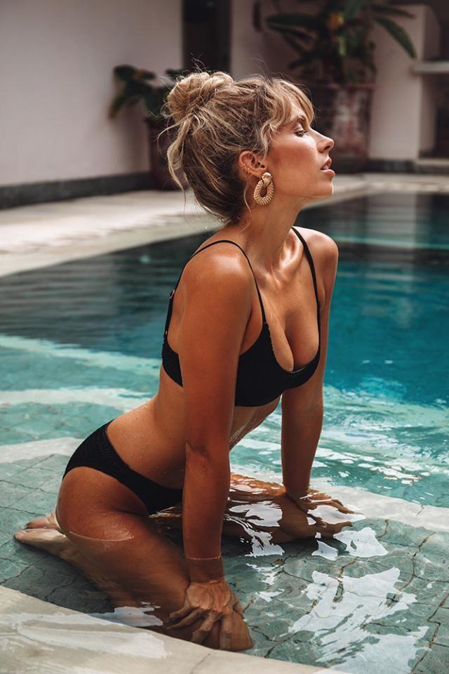 ZAFUL Padded Scrunch Butt Bikini Set  Hot black  bikini set  , BUY HERE, Excellent quality, low price!Only in ZAFUL,…