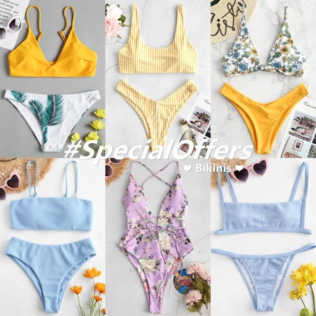 Today we recommend 6 popular bikinis for you! 