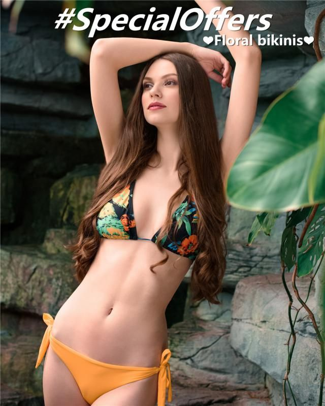 Today we recommend 6 floral bikinis with special offers for you!  Feminine and alluring, they can express your secret d…