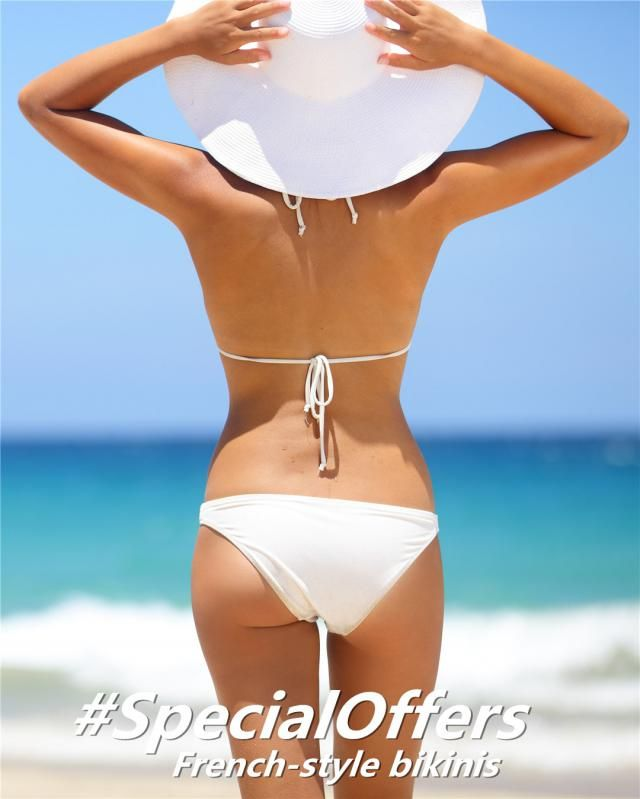 Today we recommend 6 casual, French-style bikinis for you! 