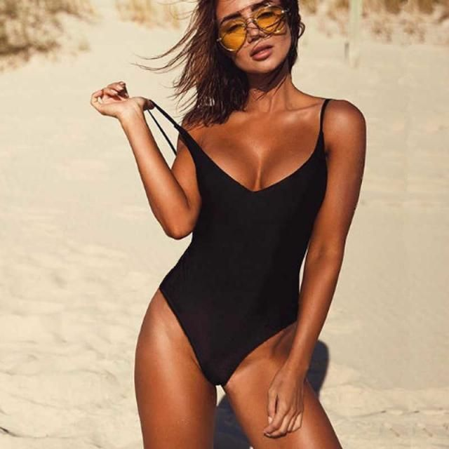 ZAFUL High Cut Backless Swimsuit  Black  HOT black swimsuit , BUY HERE, Excellent quality, low price! Only in ZAFUL,…