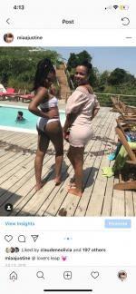 1de7cf2098 44% OFF] 2019 Bandeau Knotted High Waisted Bikini Set In GINGER | ZAFUL