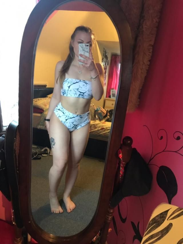 Super cute bikini! Fits well and I love it? It looks exaclty like the pictures and is true to size, very comfortable t…