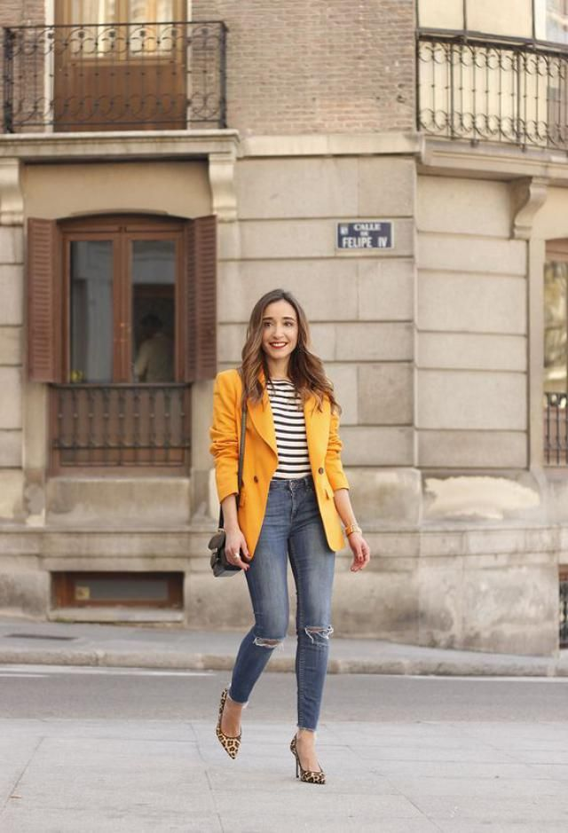 Yellow blazer, online shop, women fashion, zaful trends, great spring blazer!!