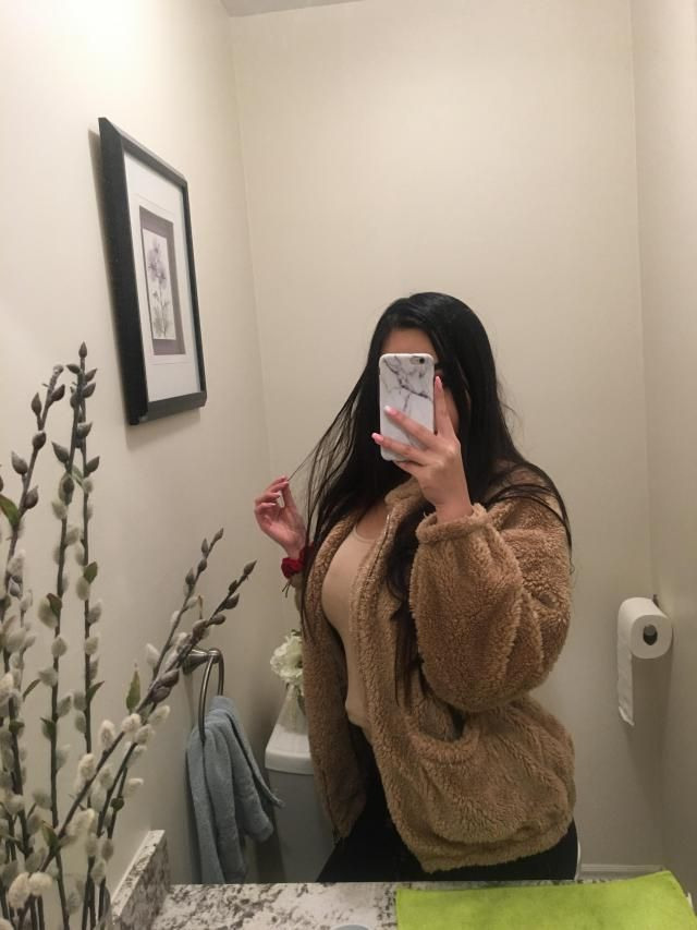 I just got my order today and I absolutely love it. It's so fluffy and I was a bit worried that the sleeves would be t…