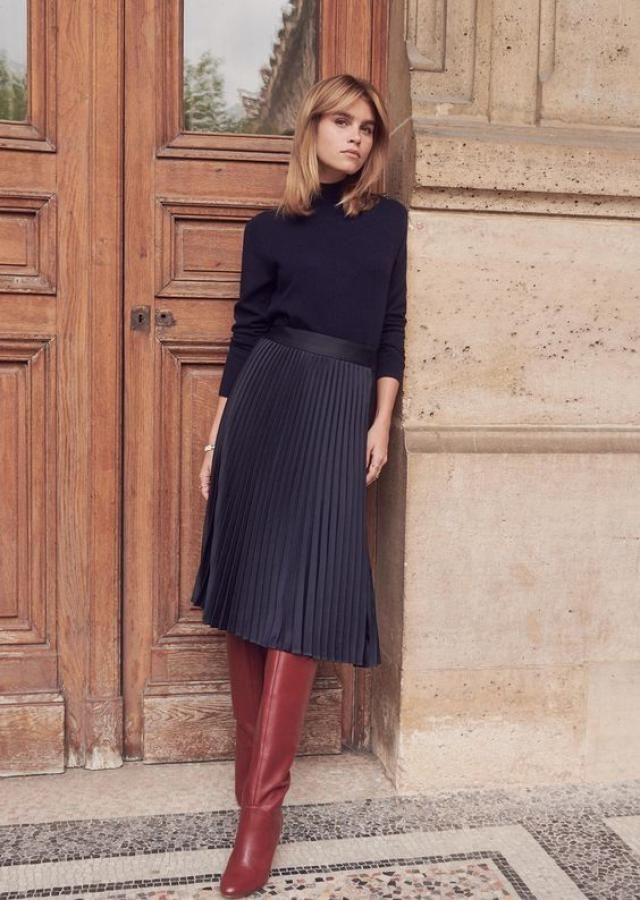 Modern skirts of all shapes for spring days