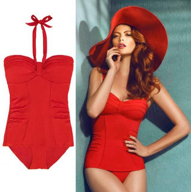 One-piece swimsuit is perfect for full ladies and shorts, be trendy, choose your costume, Zaful has it in all colors