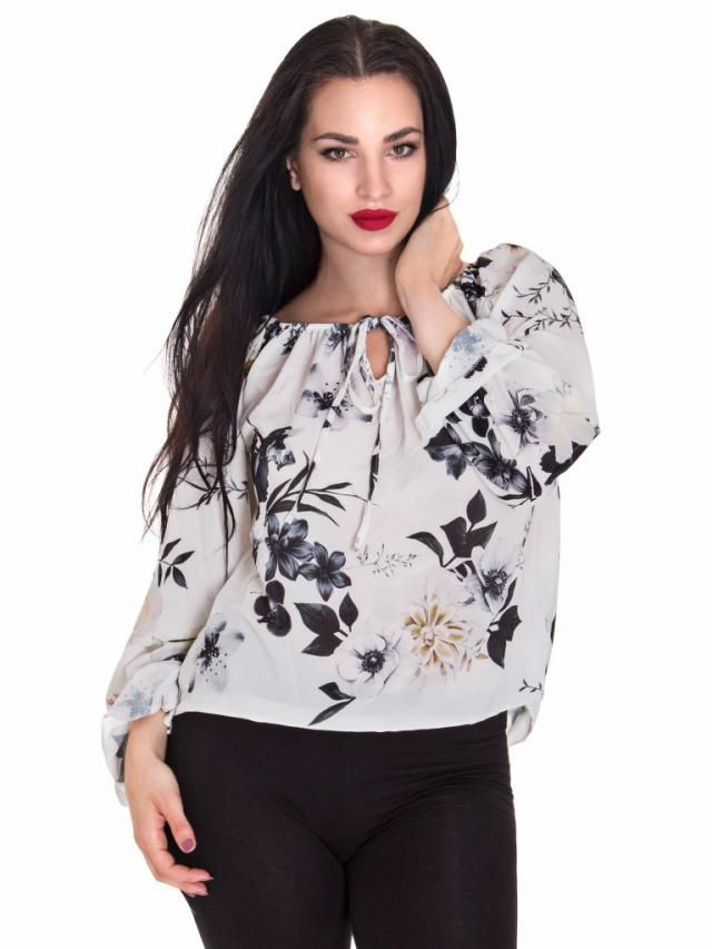 Elegant flower blouses