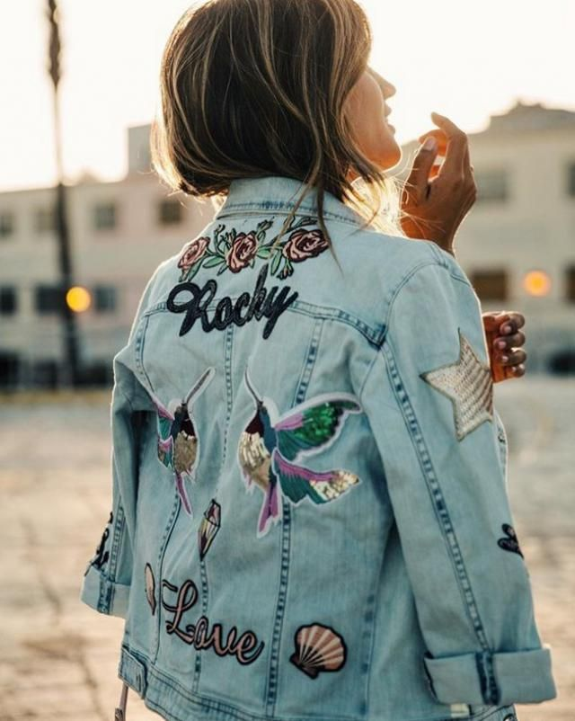 For the spring you need Denim jacket, whether short or long anyway, you can combine them with all garments, &quo…