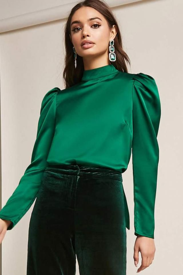 Elegant blouses of all colors are good for any occasion, you can wear them on every garment item