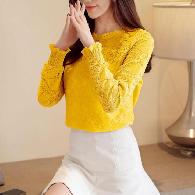 Yellow color is a hit this year, yellow blouses as well as floral yellow blouses can be found in Zaful, easy to combine…