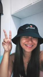 ac2d4a4736567 26% OFF  2019 Strawberry Embroidered Bucket Hat In BLACK