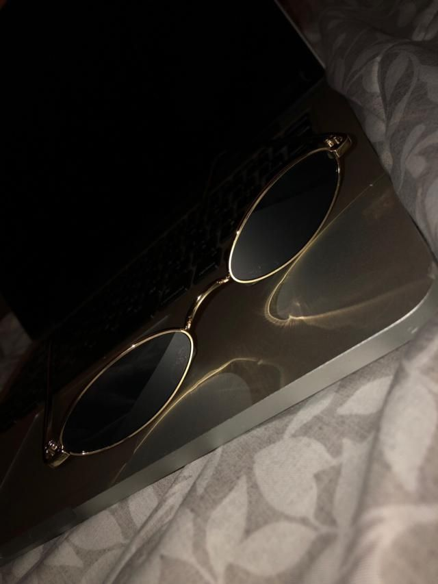 this glasses are so cute exactly how u see them in the picture and not cheap quality Looks and is True to size