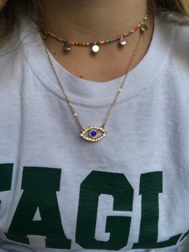 True to showing, although the ye was a bit bigger than anticipated but overall love the necklace and was exactly what …