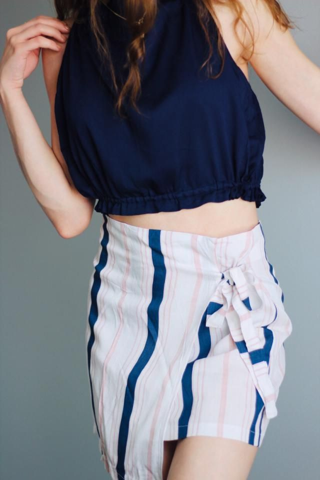 Good materials for the most part. The skirt is like a canvas material, so it wrinkles quickly. I'm not too crazy about…