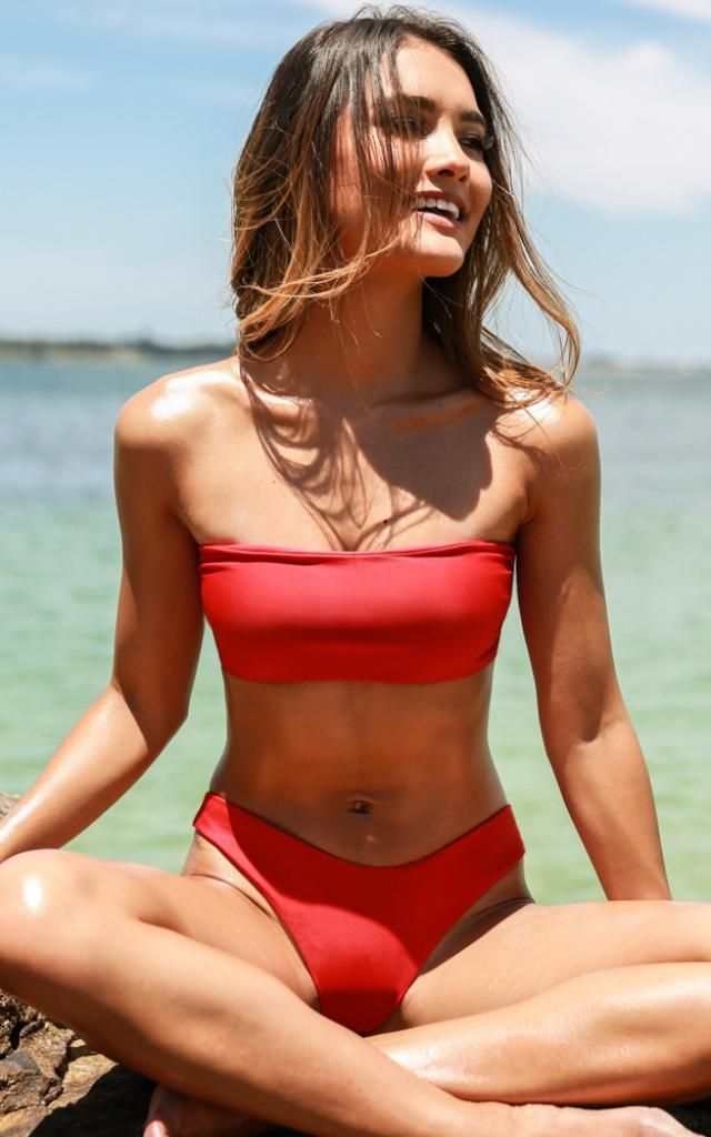 Padded Bandeau Bikini Set