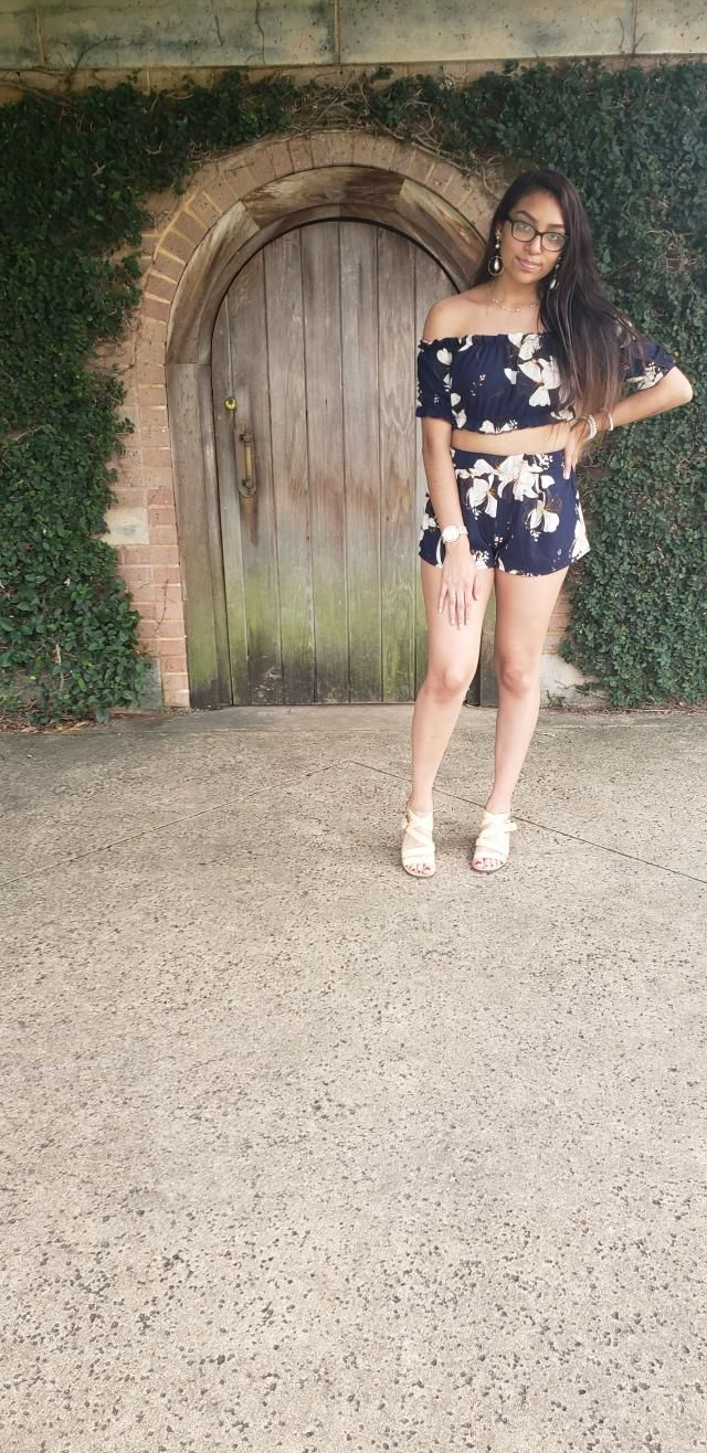 I love the pattern and the idea of having a two-piece outfit, the material and texture is fine. The only concern is I …