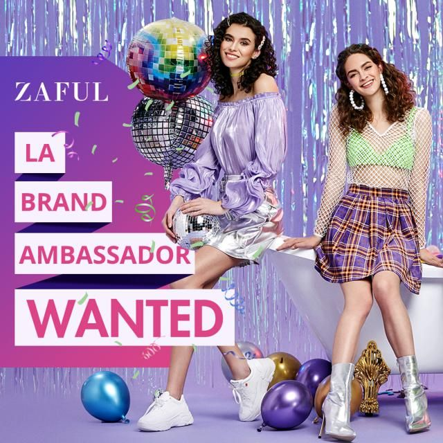 Hey girls! Student Brand Ambassadors wanted! We are now having special recruitment for LA influencers' party on 9th Jun…