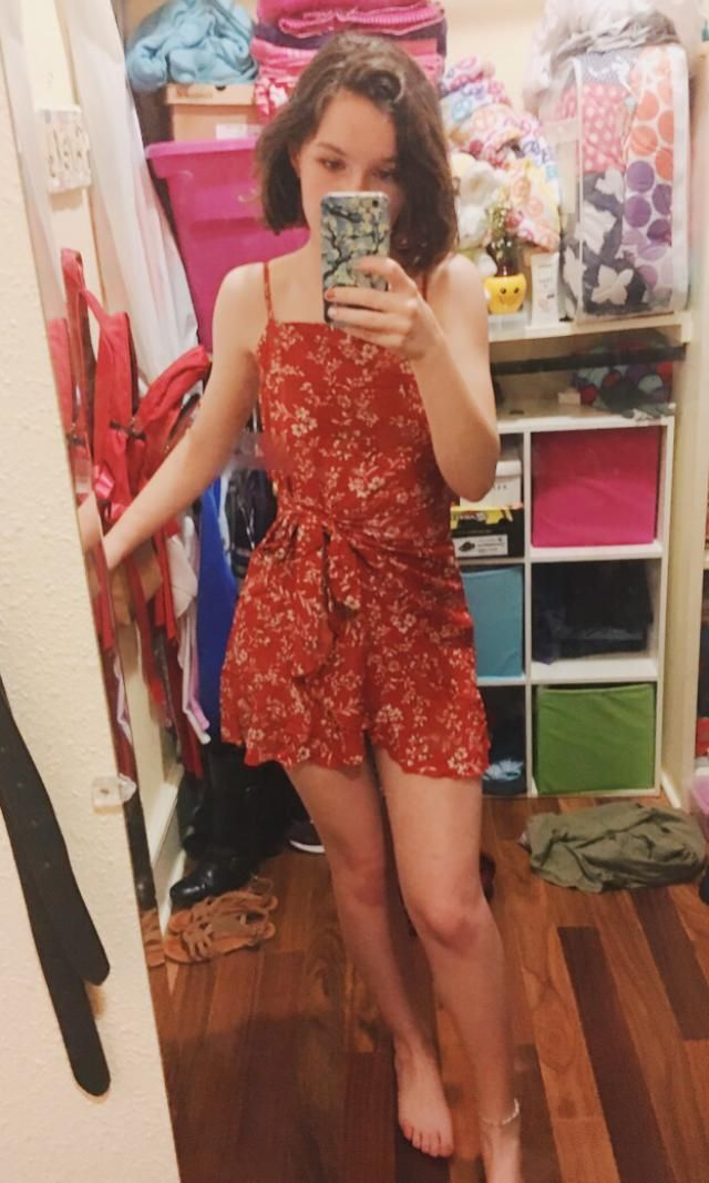 Really nice dress! Shorter than I would've liked and you'll need a strapless bra if you don't want anything to show th…